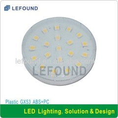 CE CB approval GX53 LED cabinet lamp