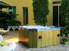 Jacuzzi spa;hydrotherapy massage spa