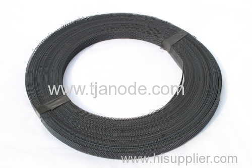 Manufacture of MMO Titanium Mesh Ribbon