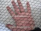 Vinyl Coated Chicken Wire Mesh Fence , Welded Wire Fabric