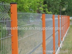 powder-coating garden fence panels