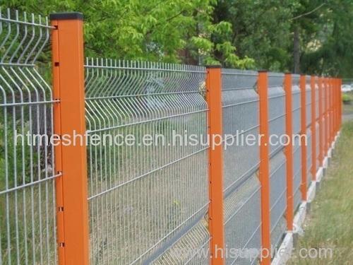 powder-coating garden fence panels