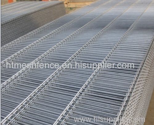 Hot-dipped galvanized after welding wire fence panel