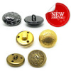 Favorites Compare new style painted bulk design /18/20/25mm round/square golden/silver decorative metal brass fashion cu