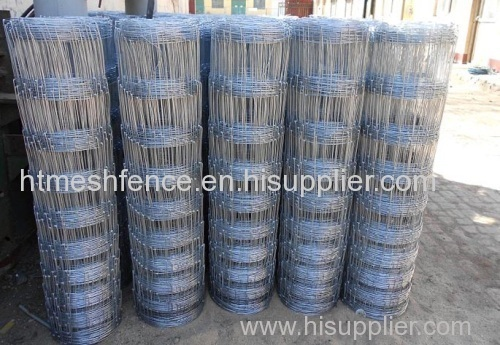 Hot-dipped galvanized cattle proof wire fence mesh
