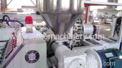 PE plastic machinery for rod making