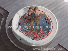 Acrylic outdoor spa hot tub;6 person hydro spa hot tubs;