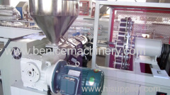 Plastic machinery for PE rod