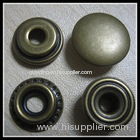 metal prong press snap button with four parts for garment