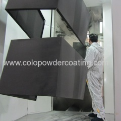 powder coating line for refrigerator
