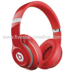 Beats by Dre Studio Wireless On-Ear Headphones Red with RemoteTalk Cable