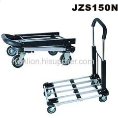 Aluminum Folding Hand Truck JZS150N with EVA wrapped handle