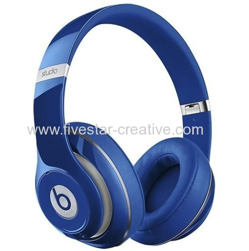 New Beats by Dr.Dre Studio 2.0 Over-the-Ear Wireless Headphones Blue