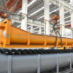High performance cost ratio sand washer equipment