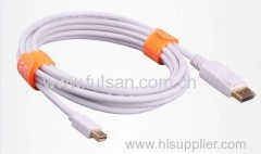 High quality Mini Displayport to displayPort video cable