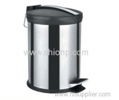 5l stainless steel trash bin