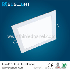 Factory sales ultra thin design recessed led square panel light