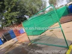 Powder-coating Temporary Steel Fencing