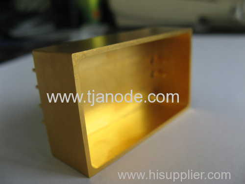 hybride package glass component gold plating product