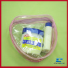 Reclosable Clear Plastic PVC Pouch With Zipper