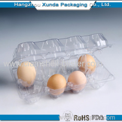 Plastic Blister Egg Trays With Lock