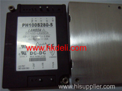 PH100S280-5 - Simple function 50 to 600W DC-DC converters-LAMBDA