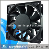 High airflow 1238 dc brushless cooling fan for Electronics/ Computer case
