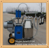 Mobile portable cow milking machine