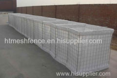 Pesado galvanizado Sand Military Pared Hesco Barrera