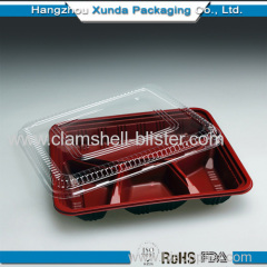 Divider Plastic Box With Separate Cover