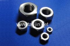 titanium fasteners flange nut
