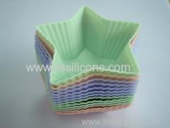 Shape silicone cake mold