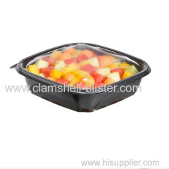 Fruits Or Vegetables Plastic trays Packaging With Cover