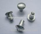 metal rivet tubular rivet black nylon rivet