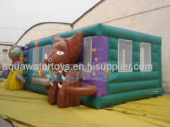 Ultraman Challenge Inflatable Playground
