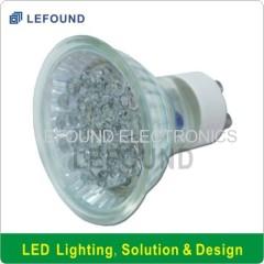 CE CB Approval GU10 LED Spot bub light lamp (Glass)