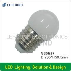 CE CB approval G35 E27 LED bulb