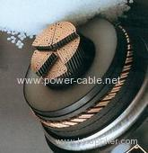 Supply high voltage XLPE power cable
