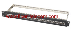 Cat.6a FTP Patch Panel 1U 24 ports