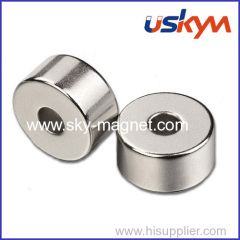 China Ring Ndfeb Magnets/Permanent Magnets Ring/Sintered Ndfeb Ring Magnets