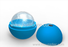 Sphere ice ball maker mold