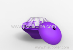 Diamond silicone ice ball mold maker