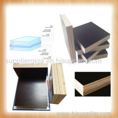 CE Qualified plywood brown film faced plywood for concrete formwork use