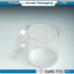 Clear plastic gift candy containers manufacture