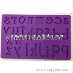 New!! Food grade Letters design silicone fondant molds (4 designs)