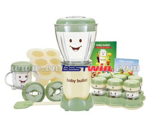 As Seen on TV BPA Free Baby blender Bullet Baby Food Maker 20-Piece Set as seen on tv