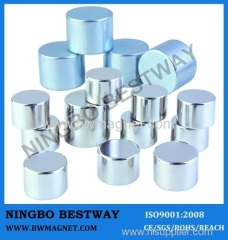 N35 D4*3 Disc NdFeB Magnets NiCuNi coating