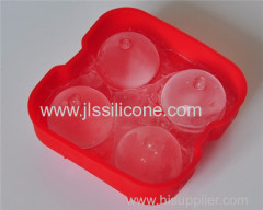 Four ice ball sphere mold