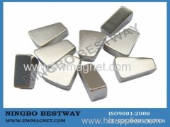 N35 R25*r10*15*10mm Permanent Arc NdFeB Magnet