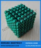 Green Color D5mm magnetic ball toy